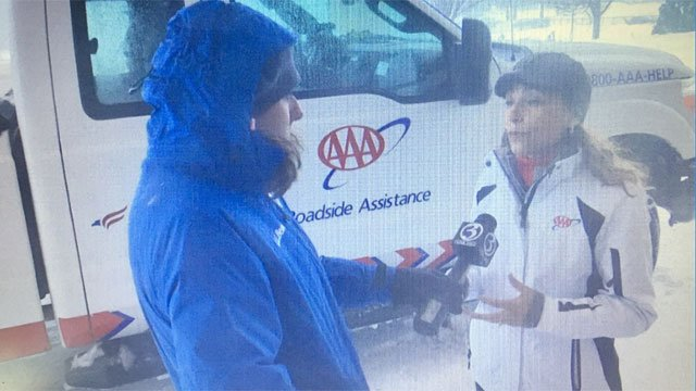 AAA talks about the Blizzard Eugene. (WFSB)