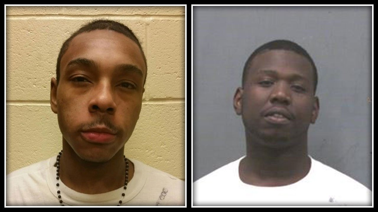 Montrell Holmes and Dajuan Bostic were arrested after police said they were partly responsible for a string of car thefts and burglaries in Clinton and other Connecticut communities. (Clinton Police Department)