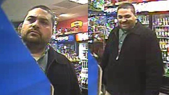 This suspect was identified by police following last week's gas station attack. (Newington police photo)
