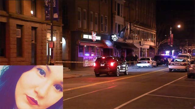 Taylor Lavoie died after falling from the roof of the Angry Bull earlier this month (WFSB/Facebook)