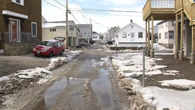The aftermath of the flooding that happened on Tuesday (WFSB)