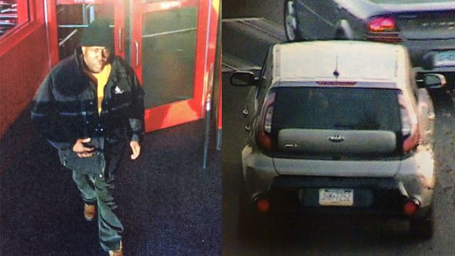 A man tried steal tablets from a store in South Windsor on Monday. (South Windsor police photos)