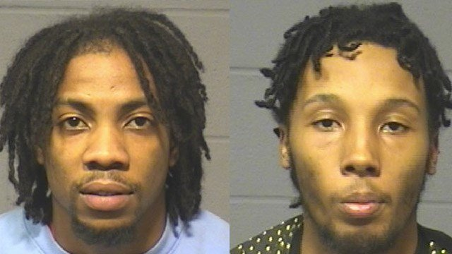 Hakeem Ferguson and Ezekiel Myrie were arrested for a internet sales robbery in Hartford that happened back in December. (Hartford police photos)