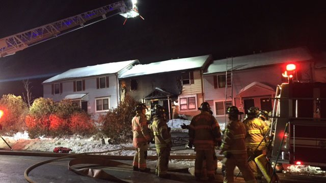 Nine people were rescued from a fire in New Britain (WFSB).