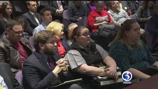 Connecticut homeowners and lawmakers are hopeful that they could eventually provide financial help to homeowners experiencing failing foundations. (WFSB)