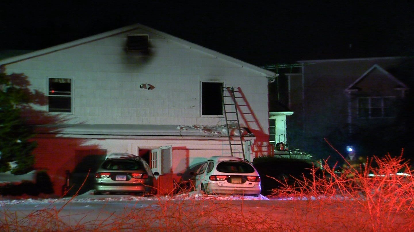 A woman was found dead inside a home that caught on fire on Saturday night (WFSB)