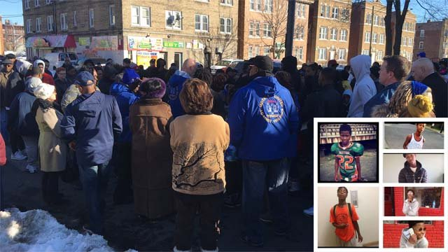 A vigil was held on Sunday in memory of a teen who was shot and killed Friday night. (WFSB/family photo)