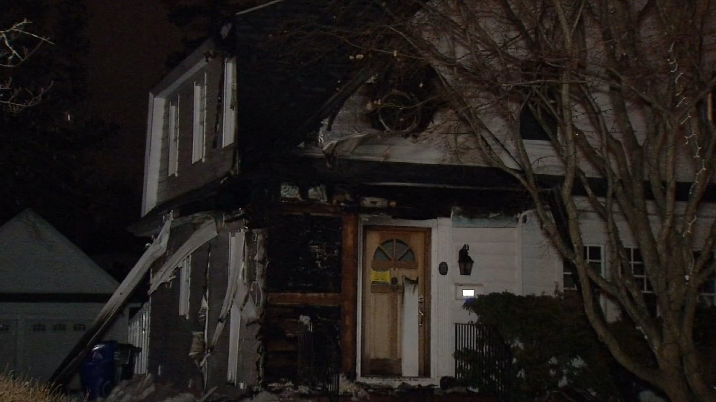 Investigators are looking into the cause of a fire at a home on Boulevard. (WFSB photo)