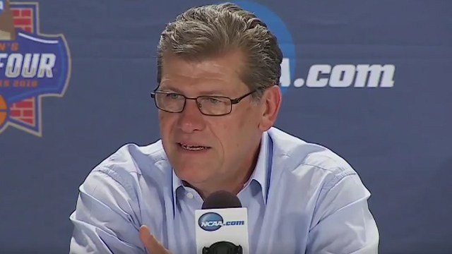 Geno Auriemma, UConn Women's Basketball head coach. (NCAA photo)