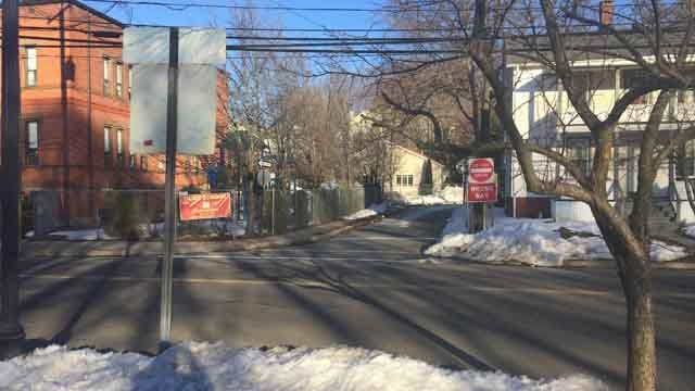 The scene has since cleared after a man was hit by a car (WFSB)