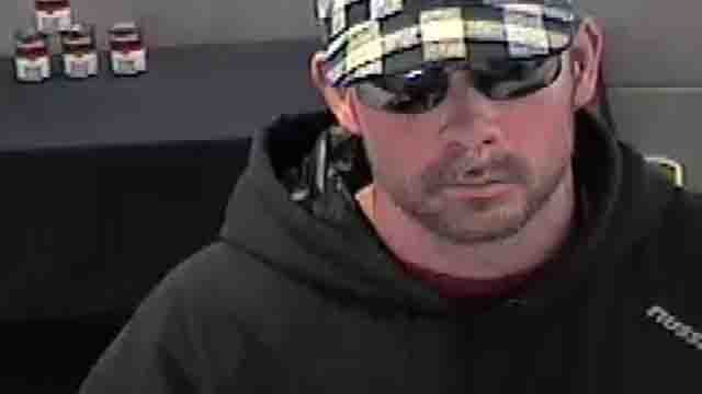 Police say this man is accused of robbing a bank in Milford (Milford police)