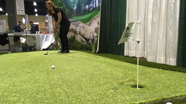 Three days of golf have come to the Connecticut Convention Center in Hartford. (WFSB)