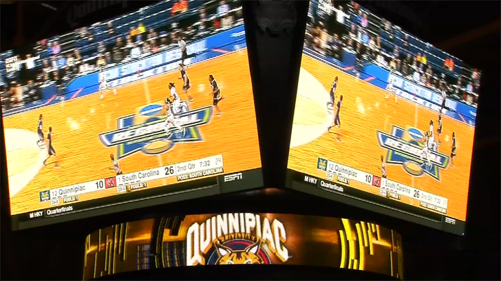 March Madness has hit the Quinnipiac campus as the Bobcats are making a tournament run into the Sweet 16. (WFSB).