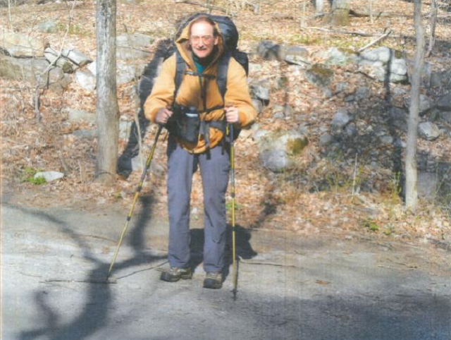 Plainville police are searching for missing Plainville hiker, Arthur Williams. (Plainville PD Photo)
