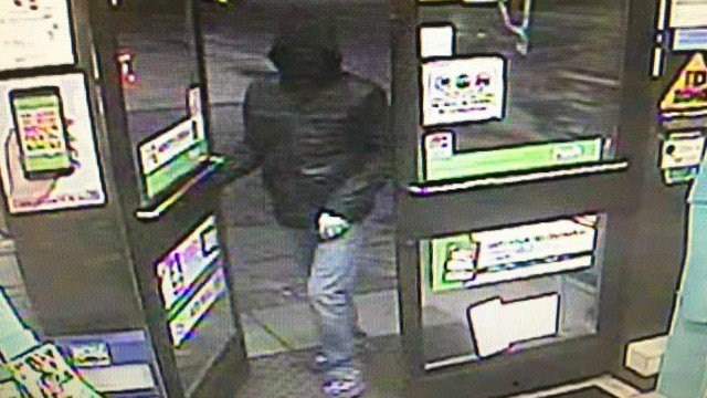 East Windsor Police are searching for an armed robbery suspect (Courtesy East Windsor Police).