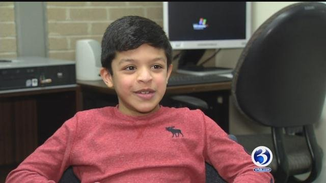 Arain Bhandari won the state spelling bee (WFSB)