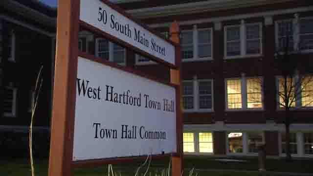 West Hartford Town Hall (WFSB file photo)