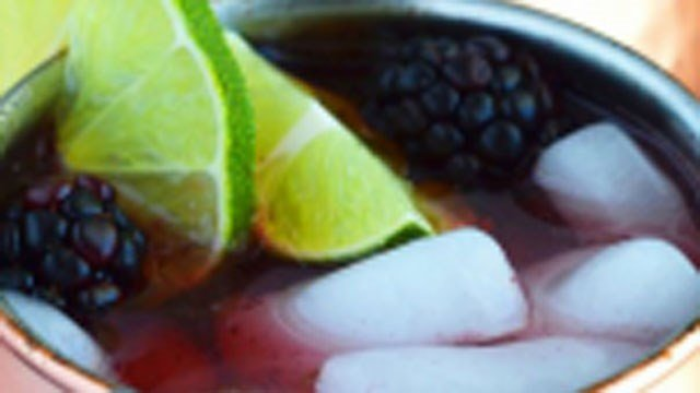 One of the drinks designed by AAA is called the Blackberry Mule.(AAA)