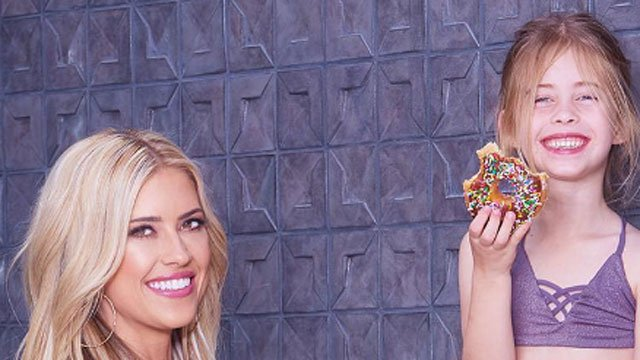 Christina El Moussa stars in the popular HGTV show Flip or Flop and with her post is causing controversy. (Instagram)