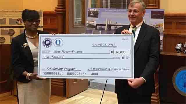 The award winning Q-Bridge is now helping New Haven Promise scholars studying engineering in college. (WFSB)