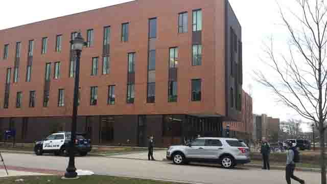 Students at Oak Hall were told to 'shelter in place' on Wednesday (WFSB)