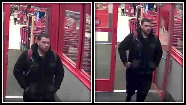 Police say this man stole more than $1,000 of products from Target and CVS (Waterford Police)