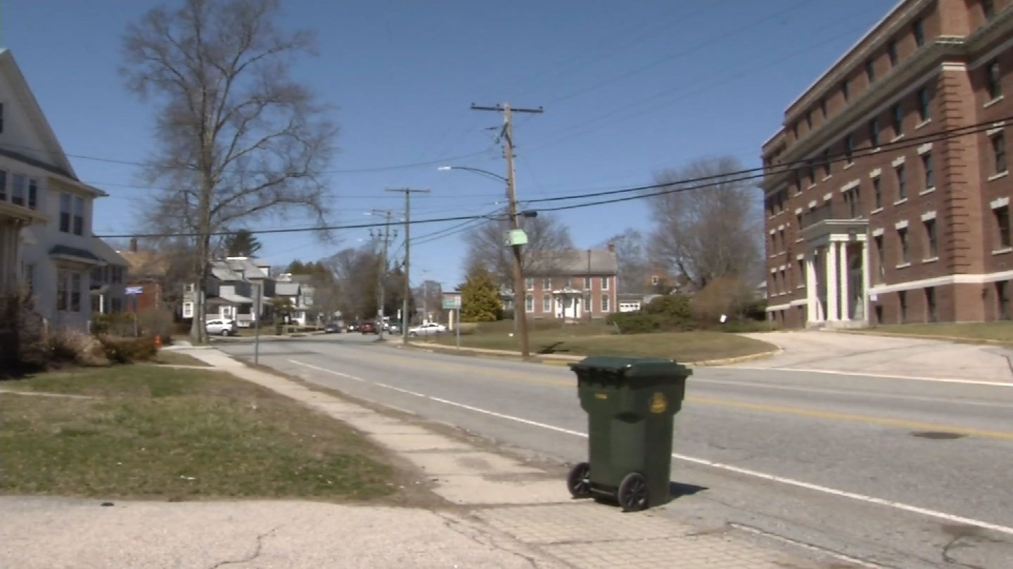 A person was hit by a car on Montauk Ave on Thursday (WFSB)