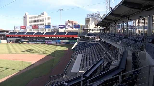 Eyewitness News got a tour of the new Yard Goats stadium on Thursday (WFSB)