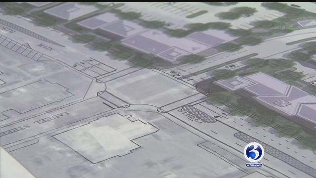 Plans were unveiled for the development in downtown Bristol. (WFSB)