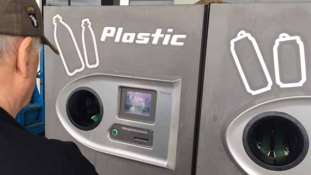 Lawmakers are discussing either doubling or scrapping the bottle deposit in the state. (WFSB)