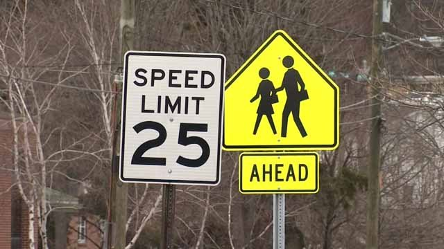 Police are working to crack down on speeders near two Torrington schools (WFSB)