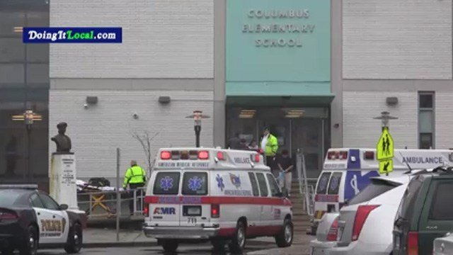 Students were sickened by an odor at Columbus Elementary School in Bridgeport, according to Doing It Local. (Doing It Local photo)