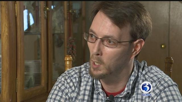 After a surgery to fix his cracked skull, Bristol resident Andrew Howe spoke exclusively to Eyewitness News. (WFSB)