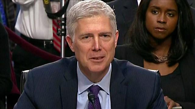 Judge Neil Gorsuch. (MGN photo)
