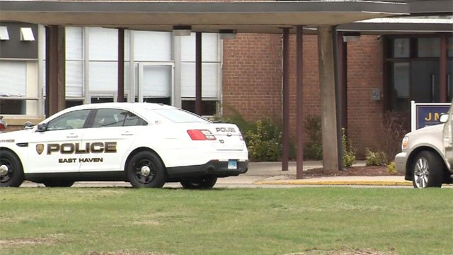 Police investigated a lockdown reported at Joseph Melillo Middle School. (WFSB)