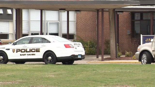 Police investigated a lockdown reportedat Joseph Melillo Middle School. (WFSB)