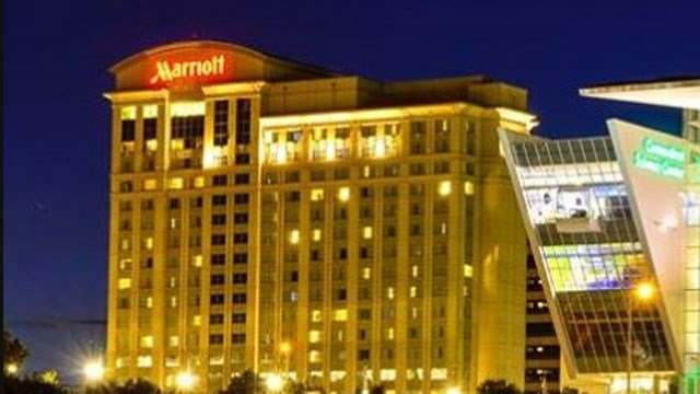 Hartford Marriott urged to close its ballroom after people get sick at recent events. (WFSB file)