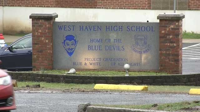 Parents raised concerns about asbestos at West Haven High School (WFSB)