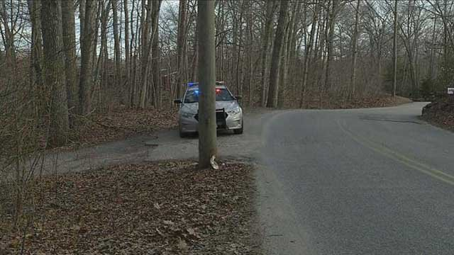 State police responded to a shooting in North Stonington on Wednesday (WFSB)