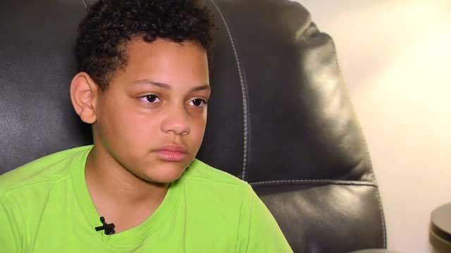 Anthony Martin loves learning, but dreads going to school. (WFSB)