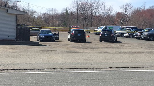 Connecticut State Police are investigating an officer-involved shooting in Suffield on Thursday afternoon. (WFSB)