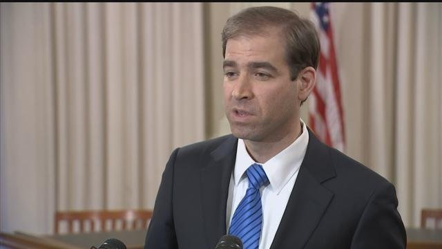 Mayor Luke Bronin submitted his recommended budget for the fiscal year 2018 to the Hartford City Council. (WFSB)