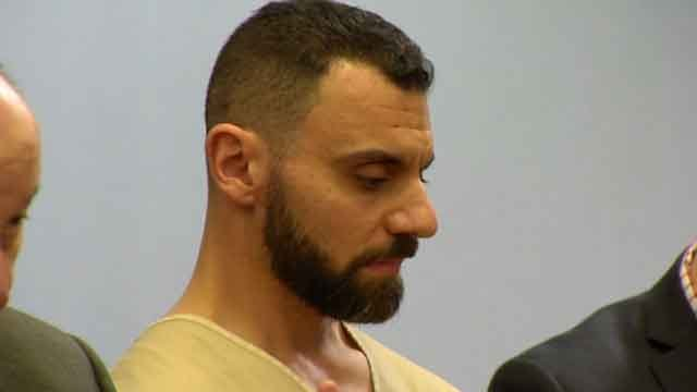 Richard Dabate appeared in court on Monday (WFSB)