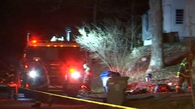 A woman was burned in a house fire in Bristol on Monday night (WFSB)