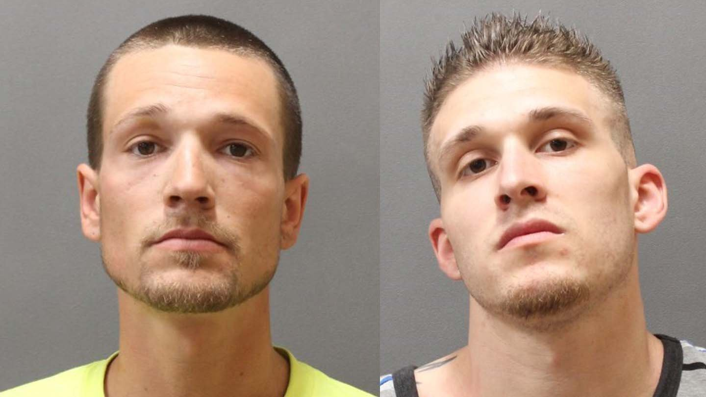 Ryan and Travis Menders. (Plainfield police photos)