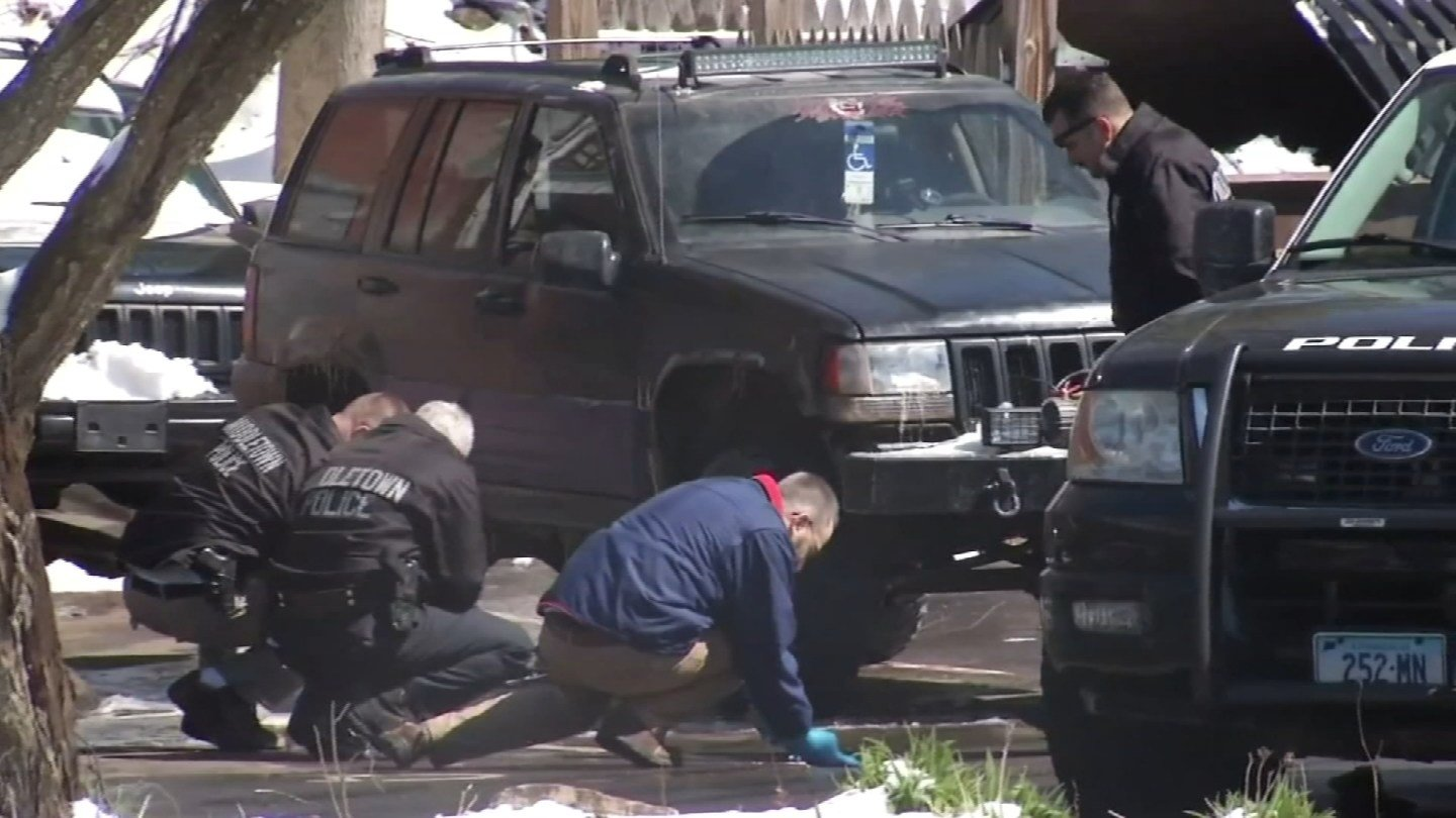 Investigators eyed the suspect's SUV back in April of 2016. (WFSB file photo)