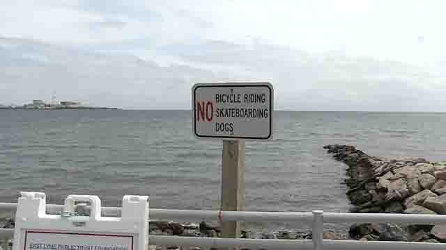 Town leaders are discussing a change to the rules on the Niantic boardwalk (WFSB)