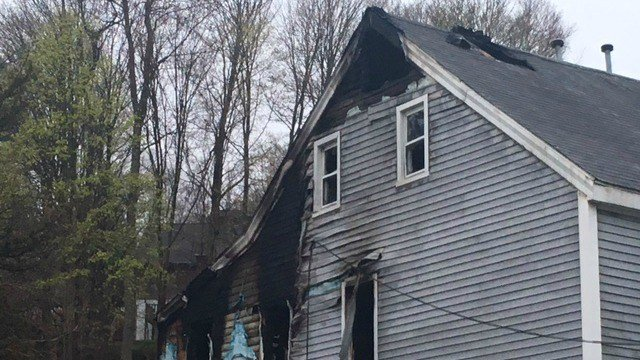 Five people are displaced following a house fire in Seymour Thursday morning (WFSB)