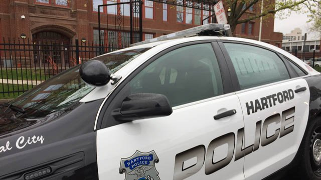 A student cut another student with a box cutter at Capital Prep Magnet School in Hartford, according to police. (WFSB photo)