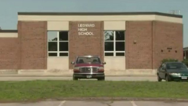 Ledyard High School. (WFSB file photo)